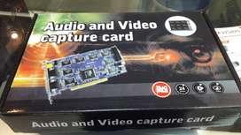 sistema de video vigilancia DVR Card 4000+ para pc / en liquidación
