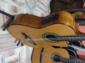 fenomenal guitarra electro acustica fransisco solis