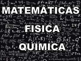 CLASES DE (MATEMÁTICA, FÍSICA, QUÍMICA, PRE CÁLCULO Y CÁLCULO) VIRTUAL Y PRESENCIAL