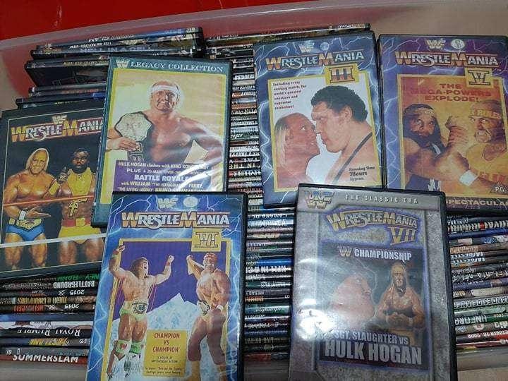 Colección Películas WWE, WWF