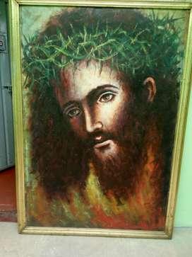 Rostro de Jesús cuadro, antigüedad