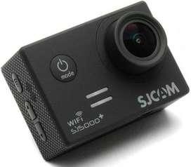 Cámara Sjcam Sj5000+ Con Accesorios