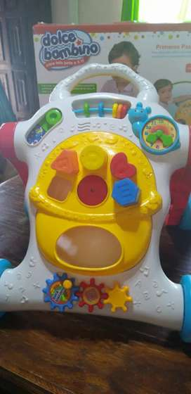 Caminador para bebé con musica