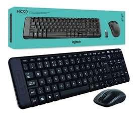 Teclado y mouse inalambrico Mk220