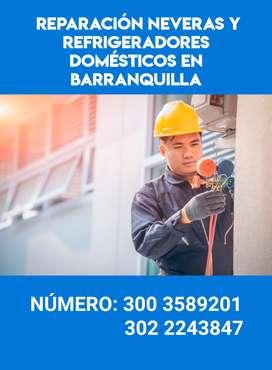 Reparación  de neveras  domésticas en  Barranquilla