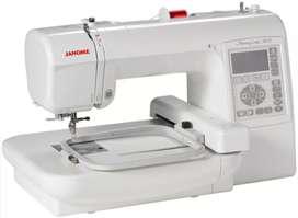 Máquina bordadora janome 200e
