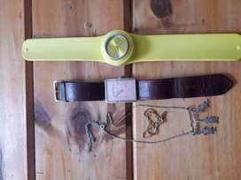 Vendo reloj  muaa original y otro le falta la pila