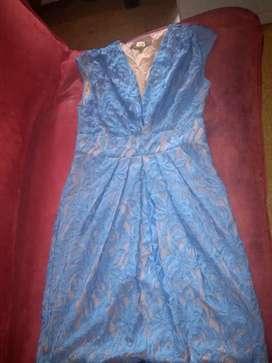 Vestido elegante Eva franco talla 10