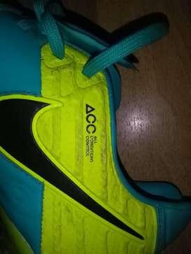 Botines Nike Tiempo Acc Talle 6us 38.5arg