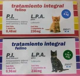 PIPETA+PASTILLA CONTRA PULGAS Y GARRAPATAS ZOOVET