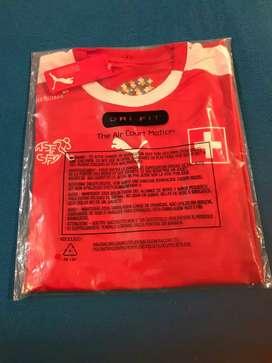 Camiseta suiza selección unica