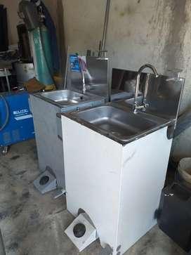 Lavamanos para la bioseguridad