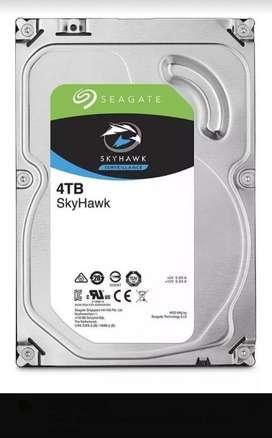Disco Rígido Seagate Skyhawk 4tb 5400rpm