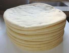 Pizzas, Pan de Lomo Y Hamburguesa