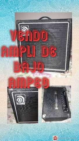 amplificador de bajo Ampeg 25 watts