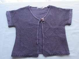 Saquito de lanilla suave y abrigada para nena, marca europea! dos posturas!, impecable!1600