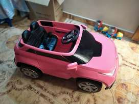 Carro infantil de batería con control