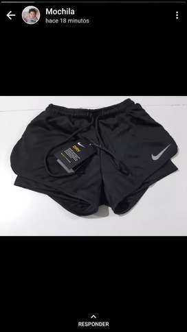 Short deportivo con calza Nike