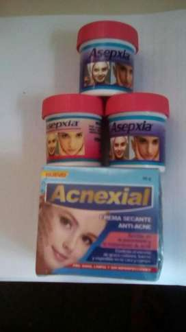Crema Antiacne Asepxia Combo