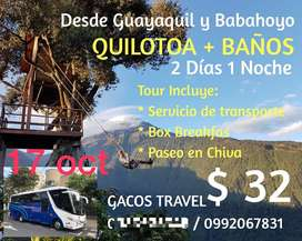 Gran Tour Laguna del Quilotoa y Baños