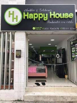 Muebles y colchones happy house
