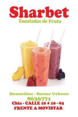 Domicilios ensaladas de fruta