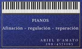 AFINACION REPARACION DE PIANOS