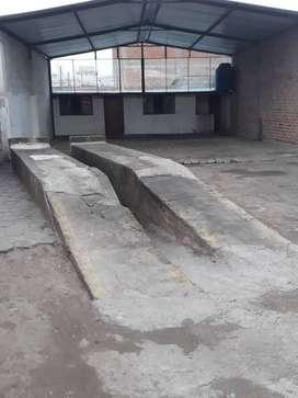 ARRIENDO GALPON PARA LAVADORA O MECANICA