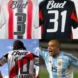 Numeros Estampados River Plate