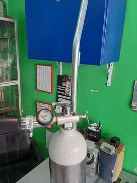 Cilindro de oxigeno portátil