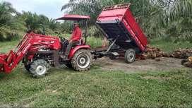 Remolque Agrícola con Sistema de Volteo Hidráulico Captain MT02