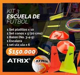 Kit de entrenamiento de futbol