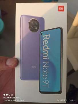 Xiaomi red mi note 9t 5G