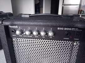Amplificador de Guitarra Eléctrica/electroacustica Randall, 15 watts, como nuevo