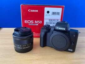 Camara Canon EOS M50 Mirrorless + Lente 15-45mm