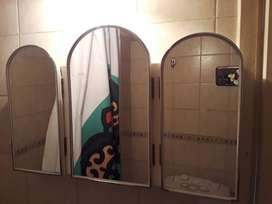 Espejo aparador triple