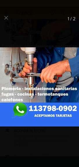 Plomeria - Instalaciónes Sanitarias