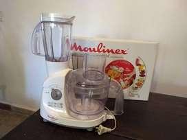 Multiprocesadora Moulinex con licuadora.