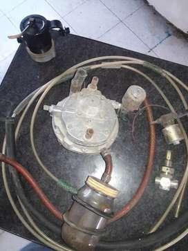 Equipo de GNC apto para gas envasado
