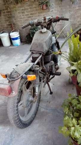 Moto vehiculo zanella