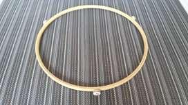 Aro base de rotación para plato horno microondas de 26 cm diámetro