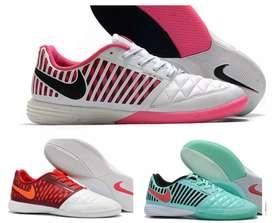 Guayos zapatillas Nike lunar gato microfutbol futsal