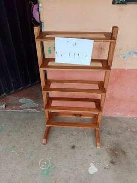 Zapatera de madera