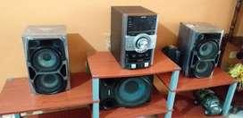Vendo equipo de sonido sony genezi GTZ5