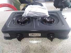 Vendo estufa nueva de dos puestos
