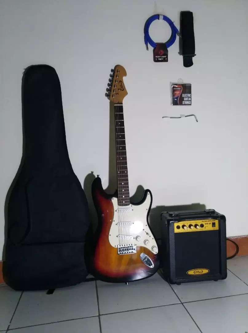 Guitarra electrica + amplificador 0