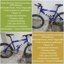 Bicicleta TodoTerreno Marca MTB Shimano