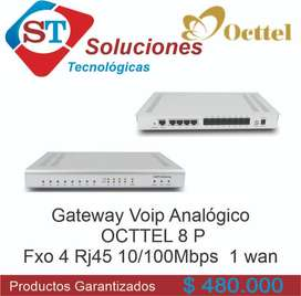 Planta telefónica Occtel 8P IP