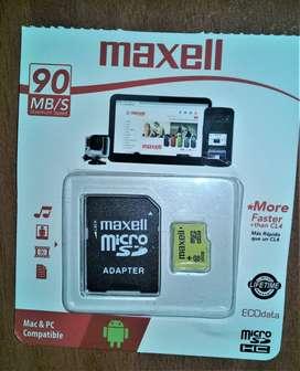 Memoria SD (Micro SD) MAXELL 32 GB