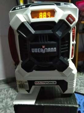 Radios a baterías ubermamn